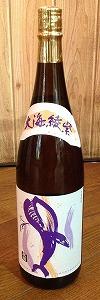 くじらのボトル綾紫 黒麹 1800ml